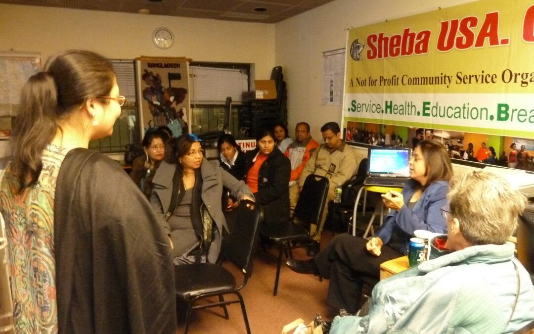 Health Seminar at ShebaUSA