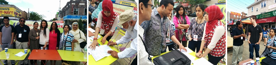 ShebaUSA's Voter Registration Campaign